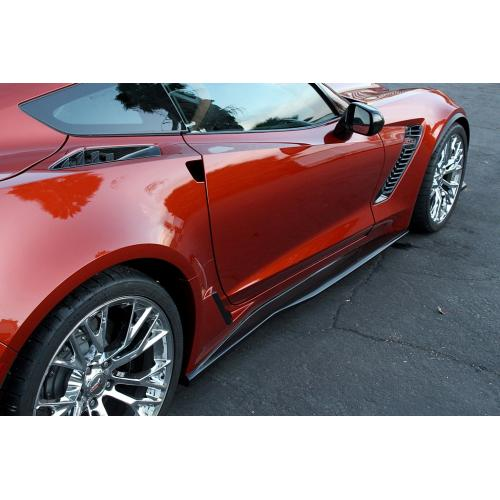 Chevrolet Corvette C7 Z06 Side Rocker Extensions 2015-Up-APR Performance-4-Horsemen-Racing