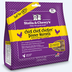 Stella & Chewy's Freeze-Dried Chick, Chick, Chicken Dinner Feline