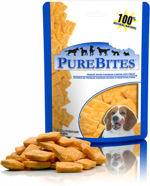 PureBites Freeze-Dried Cheddar Cheese Dog Treats