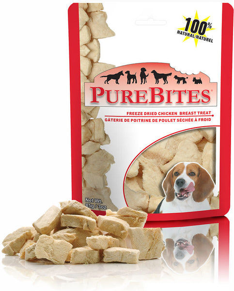 PureBites Freeze-Dried Chicken Breast Dog Treat