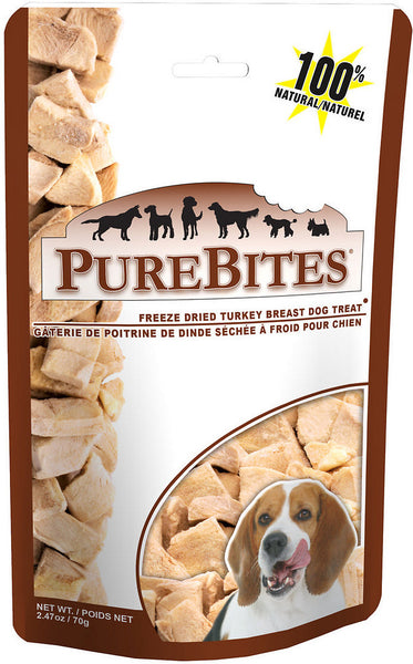 PureBites Freeze-Dried Turkey Dog Treat