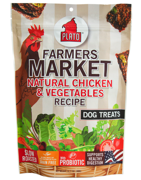 Plato Farmers Market Grain Free Chicken & Vegetables