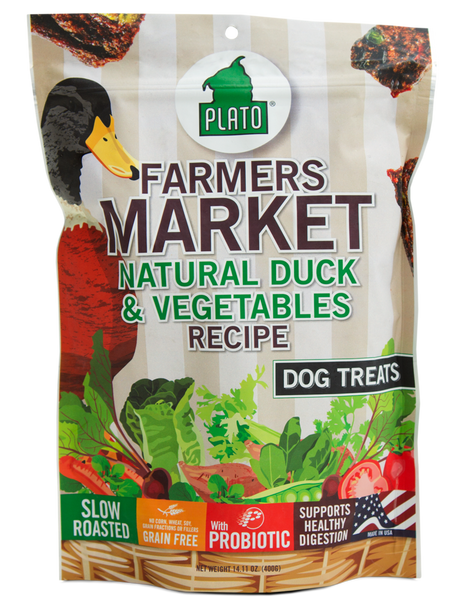 Plato Farmer's Market Natural Duck & Vegetable Grain Free
