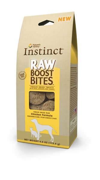 Instinct 4oz Freeze-Dried Raw Boost Bites Chicken
