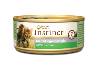 Nature's Variety Instinct LID Lamb Formula for Cats