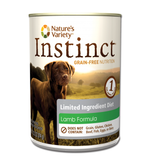 Nature's Variety Instinct LID Lamb for Dogs