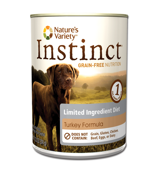 Nature's Variety Instinct LID Turkey for Dogs