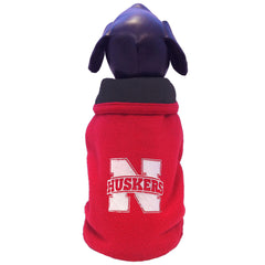 University of Nebraska Husker's Double Polar Fleece Dog Coat