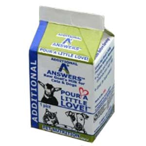 Answers Additional Goat's Milk