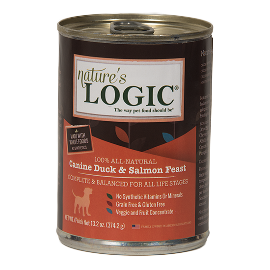 Nature's Logic 13.2oz Duck/Salmon