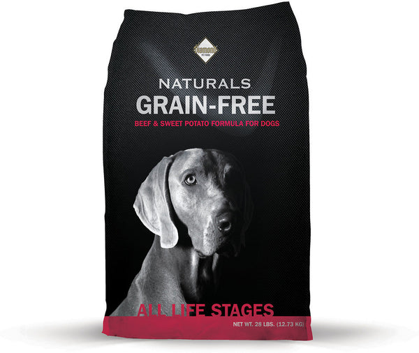 Diamond Naturals Grain Free Beef And Sweet Potato