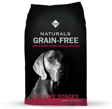 Diamond Naturals Grain Free Beef & Sweet Potato