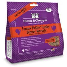 Stella & Chewy's Freeze-Dried Tummy Ticklin' Turkey Dinner Feline