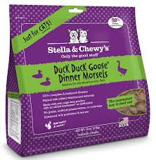 Stella & Chewy's Freeze-Dried Duck Duck Goose Dinner Feline