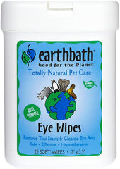 Earthbath Eye Wipes 25ct