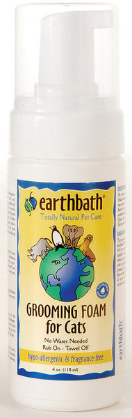 Earthbath Grooming Foam for Cats