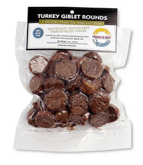 Fresh is Best 4oz Freeze-Dried Turkey Giblet Rounds