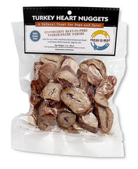 Fresh is Best 3oz Freeze-Dried Turkey Heart Nuggets
