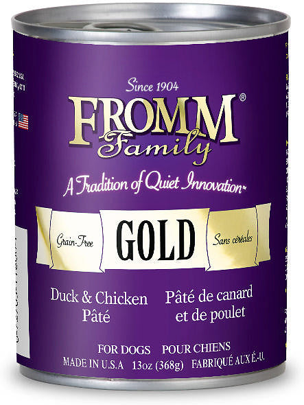 Fromm Gold Duck & Chicken Pate