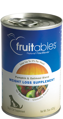 Fruitables 15oz Pumpkin/Oatmeal Weightloss Supplement