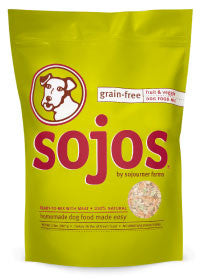 Sojos Grain Free Dog Food (Fruit and Veggie)