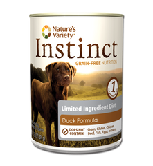Nature's Variety Instinct LID Duck for Dogs