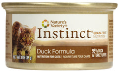 Instinct 3oz Duck Feline