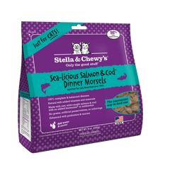 Stella & Chewy's Freeze-Dried Sea-Licious Salmon & Cod Dinner Feline