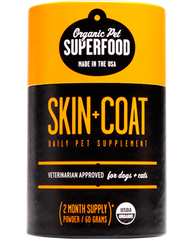 Organic Pet Superfood Skin + Coat 60g
