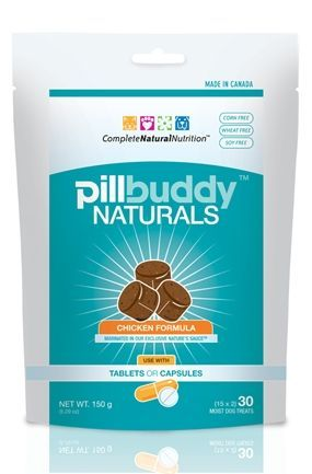 Pill Buddy Naturals Chicken 30ct