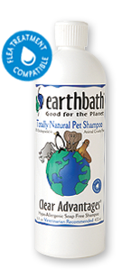 Earthbath Clear Advantages Soap Free Shampoo