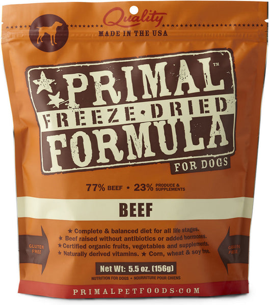 Primal Beef Freeze Dried