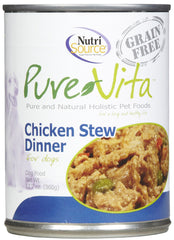 Pure Vita Grain Free Chicken Stew