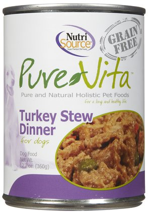 Pure Vita Grain Free Turkey Stew