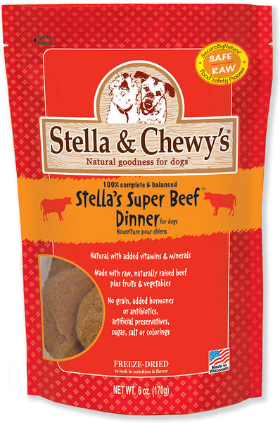 Stella & Chewy's Freeze-Dried Stella's Super Beef Dinner