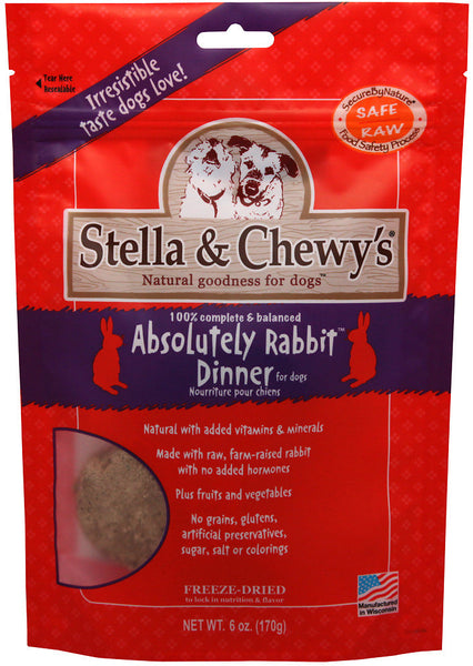 Stella & Chewy's Freeze-Dried Absolutely Rabbit Dinner