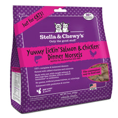 Stella & Chewy's Freeze-Dried Yummy Lickin' Salmon & Chicken Dinner Feline