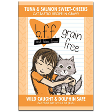 B.F.F Grain Free Tuna & Salmon Sweet-Cheeks Feline