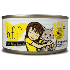 B.F.F Grain Free Tuna & Chicken 4EVA Feline