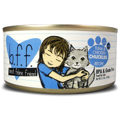 B.F.F Grain Free Tuna & Chicken Chuckles Feline