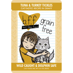 B.F.F Grain Free Tuna & Turkey Tickles Feline