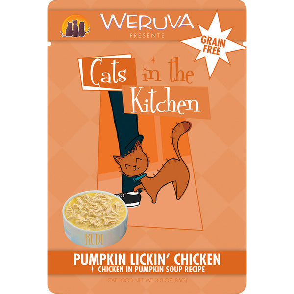 Weruva Pumpkin Lickin Chicken Feline
