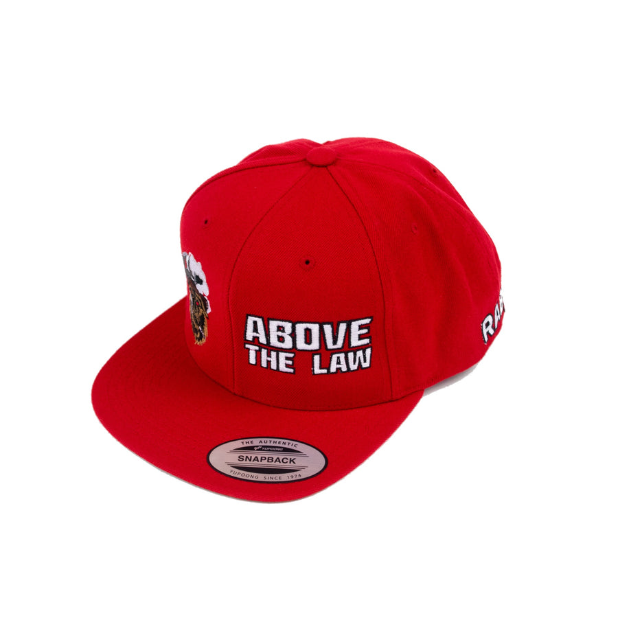 Above the Law SnapBack Hat- Red