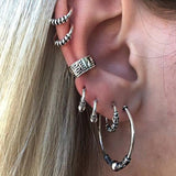 hoop earrings Fashion ens  10.54 Fashion ens