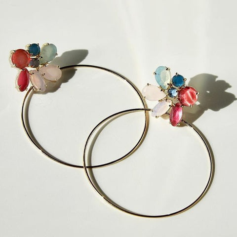 hoop earrings Fashion ens  11.85 Fashion ens