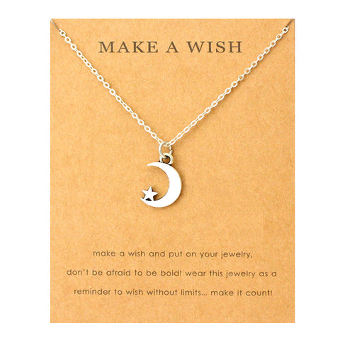 Moon Necklace Fashion ens  20.00 Fashion ens