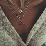 Moon Necklace Fashion ens  15.00 Fashion ens