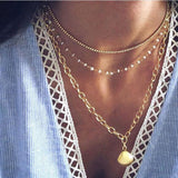 gold necklace Fashion ens  13.68 Fashion ens