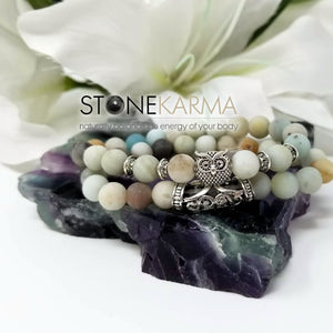 clarity and good fortune bracelet