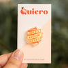 Tacos Before Vatos Acrylic Pin